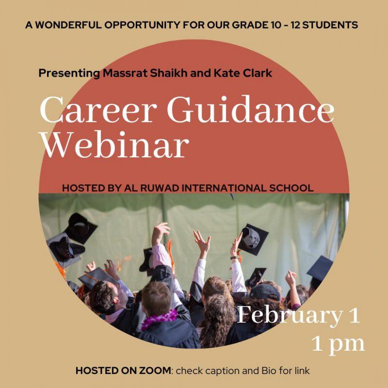 Career Guidnace- Al Ruwad School
