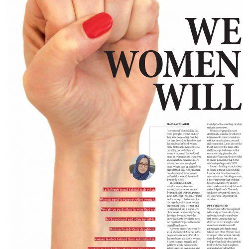 Oman Observer We Woman Will